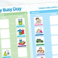 My Busy Day Children's Activity Chart (Duplicate)