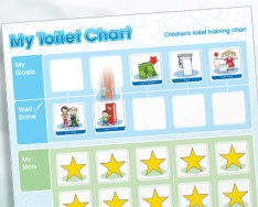 My Toilet Chart Children's Toileting Chart